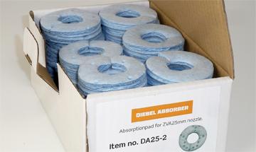 Filtre d'absorption pour Diesel Absorber